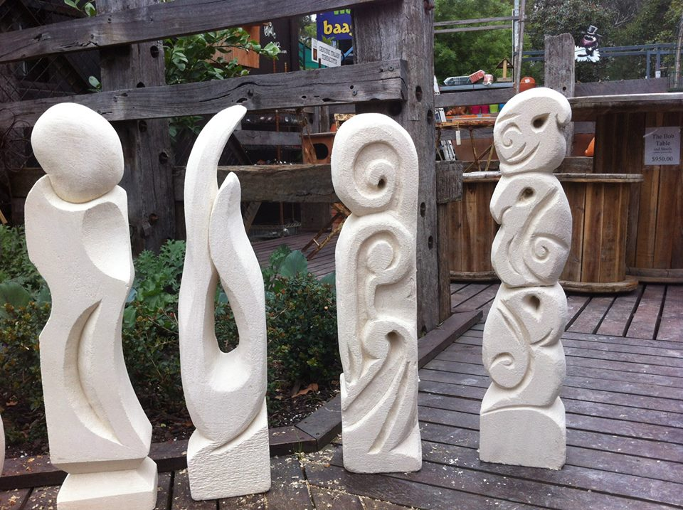 Limestone sculpture workshops with jenny whiteside bolin