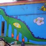 Dinosaur Mural (Jodie Nunn)